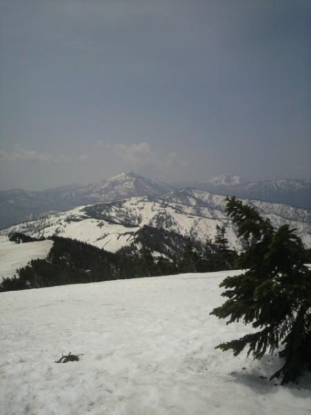尾瀬の山々