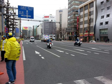 東京マラソン②