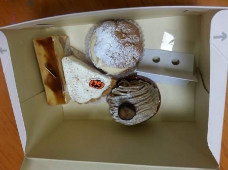 けやき並木ケーキ