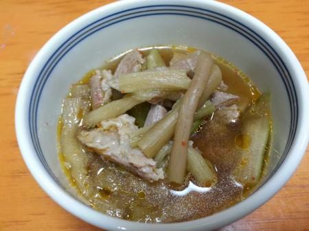 ずいきスープ