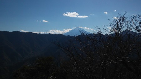 笹子雁が腹摺山からの富士山