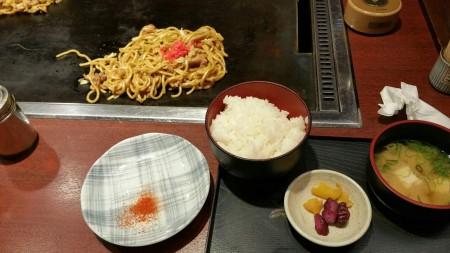 大阪やきそば定食