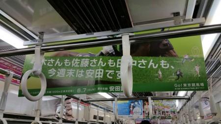 安田記念ポスター