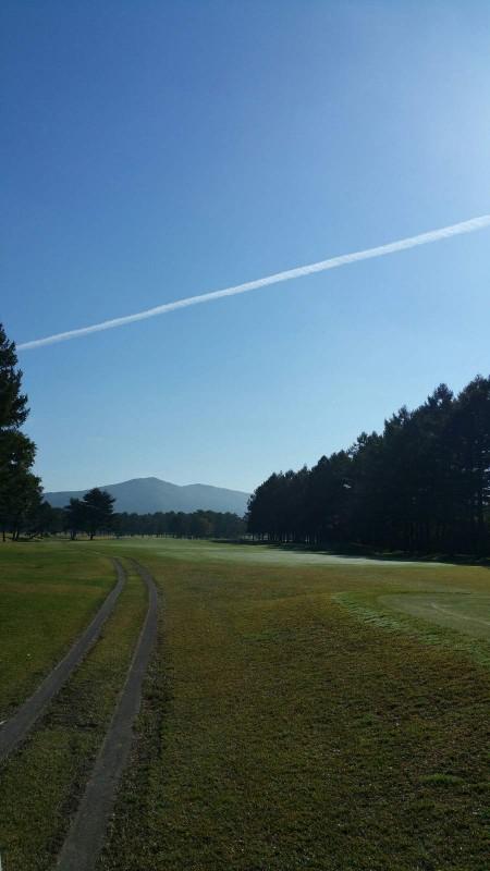 軽井沢72北飛行機雲