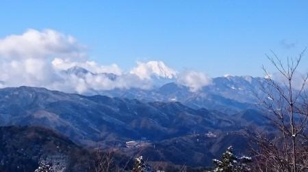 高尾から富士山
