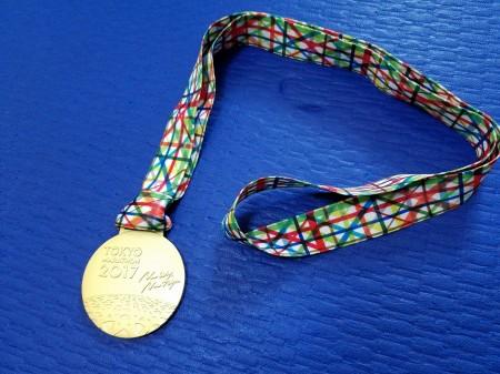 東京マラソンメダル表