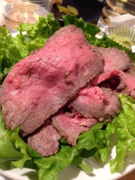 肉フェスローストビーフ