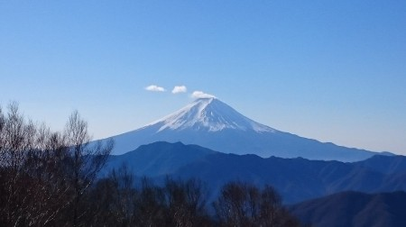 笠雲・富士