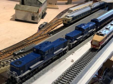 ジオラマ列車